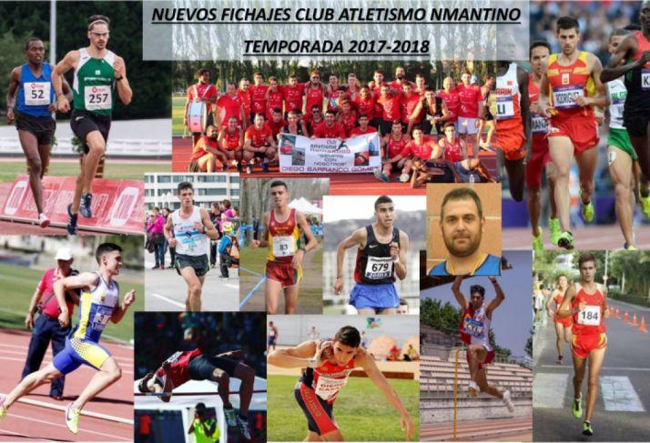 Foto 1 - El Atletismo Numantino conforma un equipo de ensueño