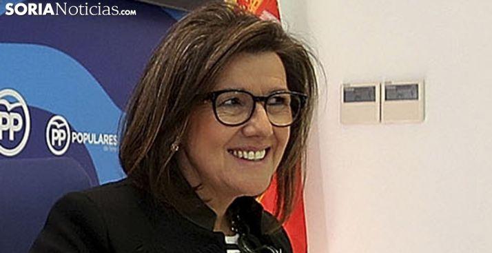 Marimar Angulo, presidenta del PP soriano. /SN