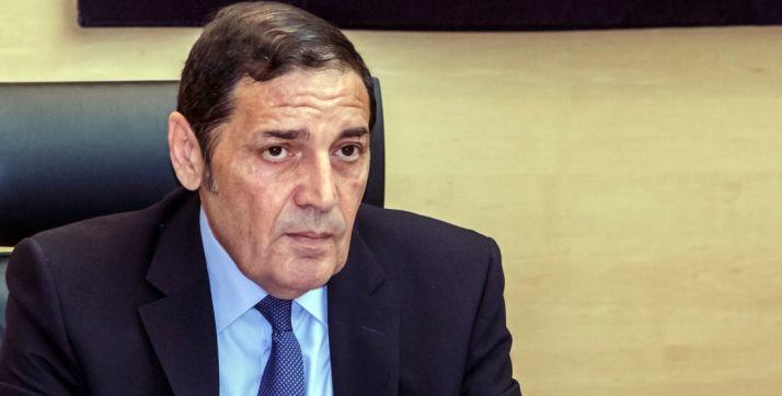 Antonio María Sáez, consejero de Sanidad.
