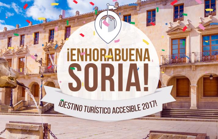 La capital, reconocida como mejor Destino Turístico Accesible 2017