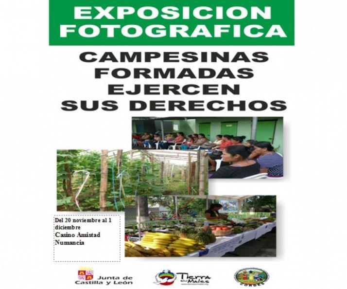 Foto 1 - Tierra sin Males expone en el Casino su trabajo en El Salvador