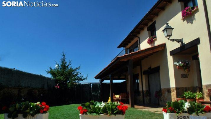 Un alojamiento de turismo rural en Soria. /SN
