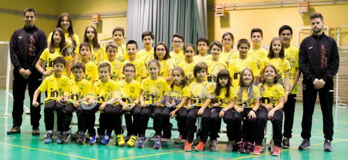 Foto de familia de los jugadores. /CVB