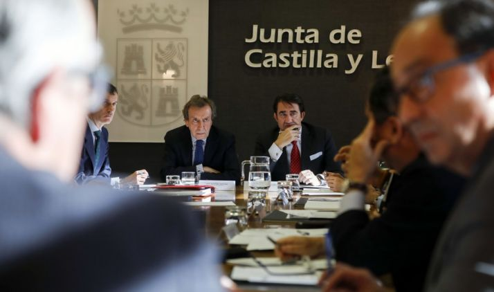 Reunión de los delegados territoriales con Fomento y Presidencia para abordar la camapaña.