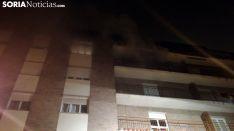 Imagen del incendio. /SN