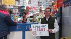 Jesús Chamorro, coresponsable del punto de venta de Lotería de E.Lecrerc