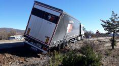 Accidente en la N-111, kilómetro 250.
