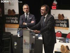 Imagen de la jornada de este lunes en La Audiencia. /SN