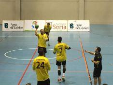 El BM Soria ganó con solvencia en el San Andrés.