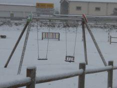 Nieve en la provincia de Soria