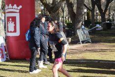 Foto 2 - Luis Ángel Tejedor y Alicia Garijo, ganadores de la segunda prueba del circuito popular de campo a través