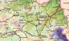 Franja del este de la provincia de Soria.