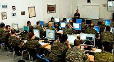 Un curso táctico del Ejército de Tierra.