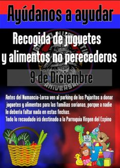 Recogida solidaria Orgullo Numantino