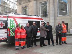 Foto 4 - Caja Rural de Soria patrocina la nueva ambulancia de Cruz Roja