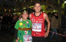Algunos de los disfraces que se han podido ver en la Carrera Popular de Navidad Puente del Canto.