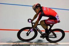 El ciclista de El Royo Mateo González.