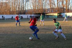 Partido entre el San José y el Sporting Uxama en San Juan de Garray.