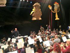 Ensayos de la Banda de Música de Soria en la Audiencia.