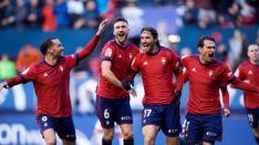 El gol de Osasuna. LaLiga