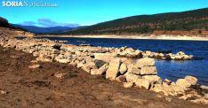 Imagen del pantano en las ruidas de La Muedra. /SN