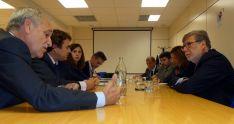 Reunión de miembros de la SSPA.