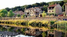 Una bella imagen de la localidad pinariega./Dip.
