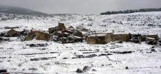 Imagen invernal de Sarnago.