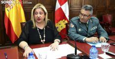Yolanda de Gregorio y Domingo Martín este lunes en rueda informativa. /SN