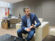 Luis Tudanca, secretario autonómico del PSOE en Castilla y León. Europa Press.