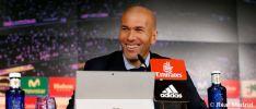 Zinedine Zidane, entrenador del equipo blanco. Real Madrid