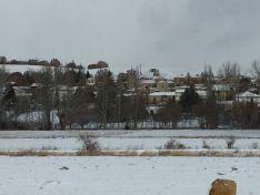 Los pueblos sorianos nevados