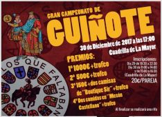 Gran Campeonato de Guiñote en la Cuadrilla La Mayor.