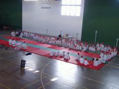 Encuentro de judokas en el polideportivo de Camaretas.