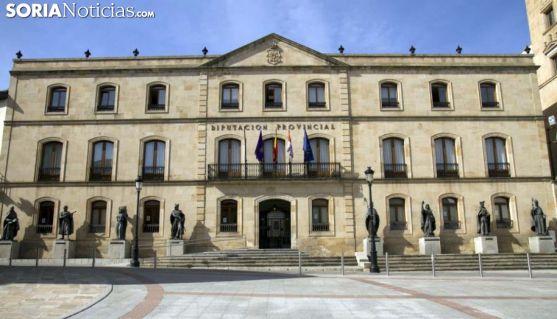 Imagen del Palacio Provincial de Soria./SN