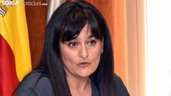 Elena del Vado, responsable de Sanidad de la Junta en la provinicia. /SN