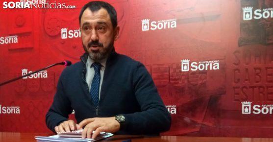 Javier Muñoz, concejal de Hacienda este martes. /SN