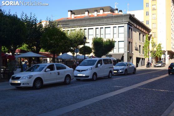 Parada de Taxis en Soria.