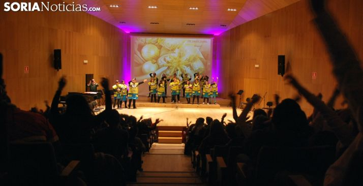 Imagen del ambiente vivido este martes en el Conservatorio. /SN