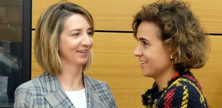 Alicia García (izda.) y Dolors Montserrat.