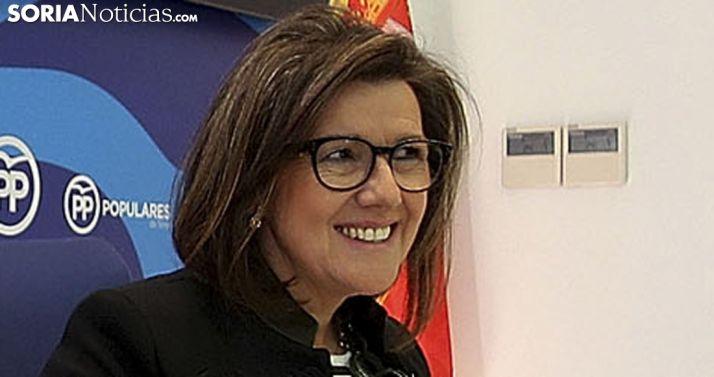Angulo, procuradora regional y presidenta del PP soriano. /SN