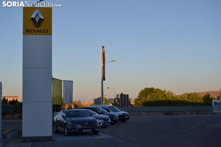 Renault, la marca más matriculada en Soria.