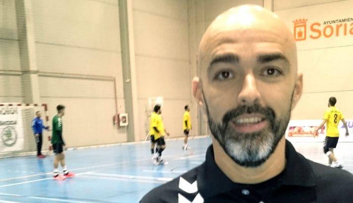 Bandrés, técnico del BM Soria.