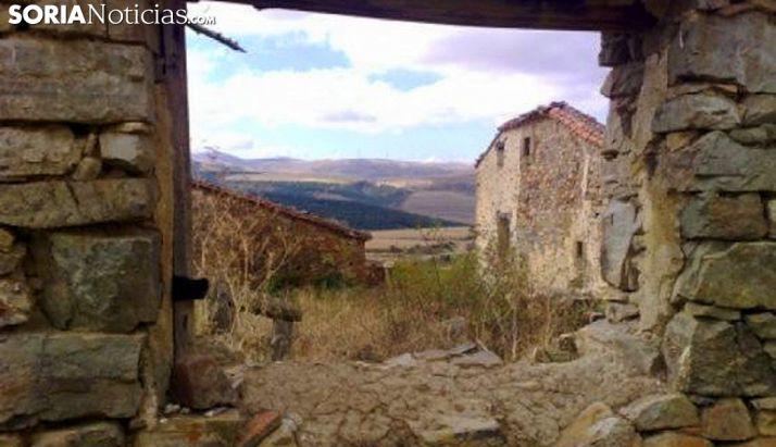 Imagen de una localidad despoblada de la provincia. /SN