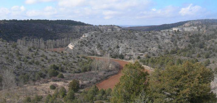 Foto 1 - Ruta por el cañón del río Sequillo el 20 de enero