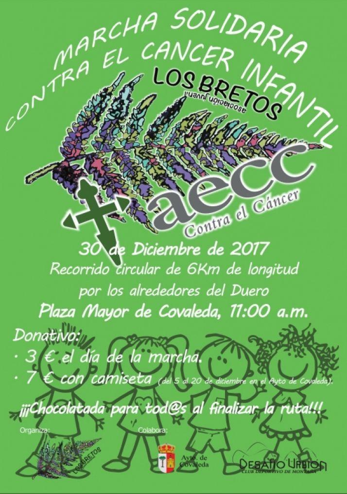 Cartel Marcha Solidaria en Covaleda