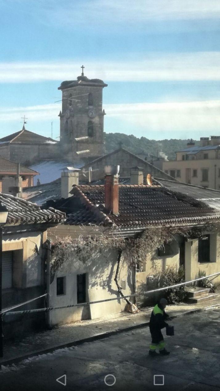 Incendio en El Portalón de San Leonardo