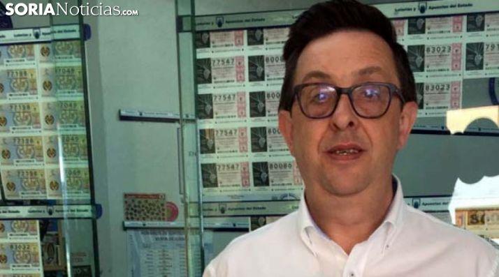 José Lamberto Menés, titular de la Administración. /SN