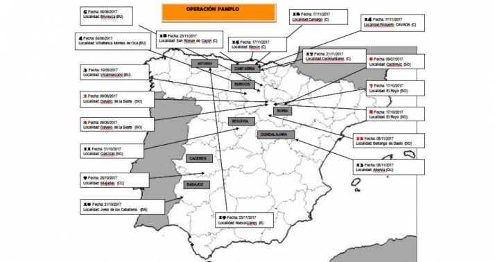 Desarrollo de la operación 'Pamplo'. /Subdelegación