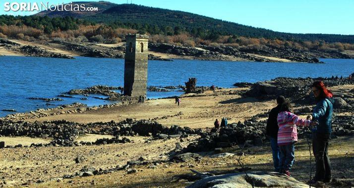 Imagen del pantano a finales de noviembre. /SN